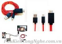 Cáp MHL 11pin Cho Smart phone kết nối HDMI TV