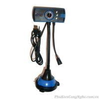 Webcam cao 3 đèn có mic