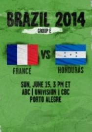 World Cup 2014 – Bảng E – Pháp Vs Honduras ()