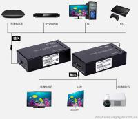 Bộ nối dài HDMI Extender 120m bằng dây lan MT-Viki ED06