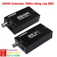 Bộ kéo dài HDMI Extender 300m bằng Cáp đồng trục BNC